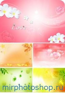 Скачать бесплатно романтические фоны