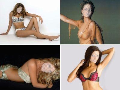 фотошаблоны девушки