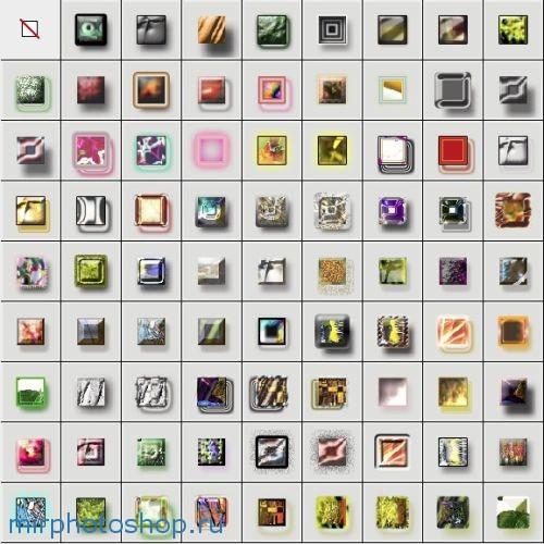 80 переливающихся стилей для фотошопа