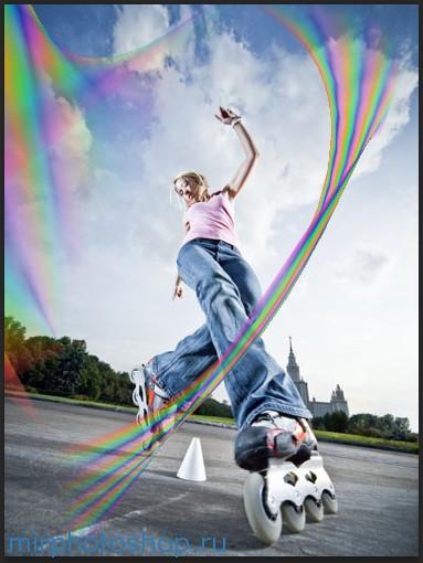 Красивые линии в фотошопе уроки по фотошопу бесплатно