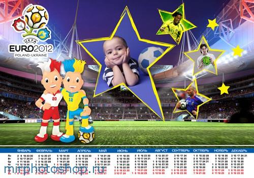 Футбольный календарь на евро 2012