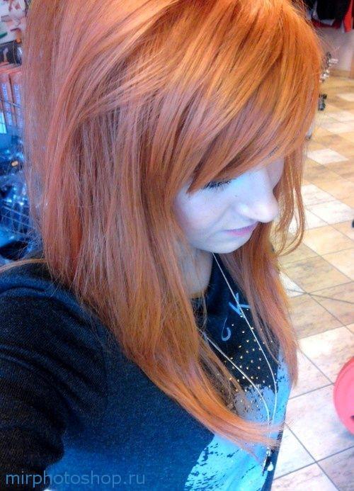 Как поменять цвет волос в фотошопе?