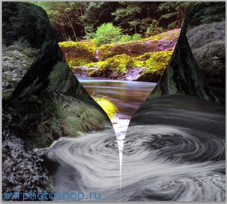 фотошоп ландшафт онлайн
