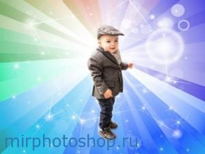 Как поменять задний фон на фото в фотошопе онлайн, фото