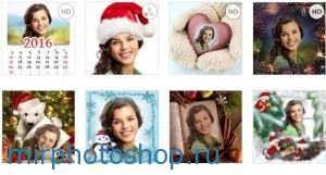 Фотоэффекты онлайн на Новый Год и Рождество!