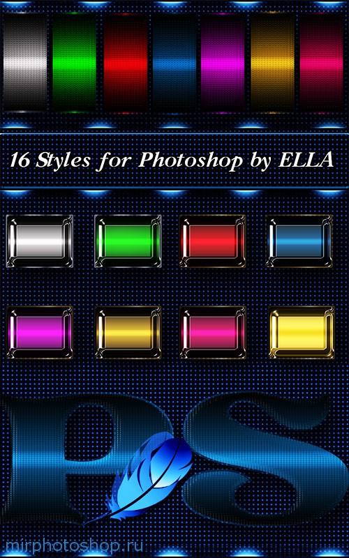 Скачать стили для фотошопа