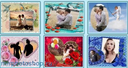сделать красивые валентинки и открытки онлайн